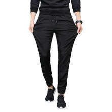 AmberHeard 2018 New Fashion Summer Men Harem Pant Casual Sportswear Cotton Jogger Outdoors Workout Elastic Male Trousers Clothes