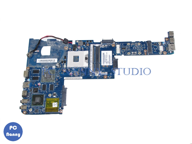 NOKOTION K000123420 PBQAA LA 7101P Mainboard for Toshiba satellite P700 P745 Laptop motherboard HM65 DDR3 GT525M