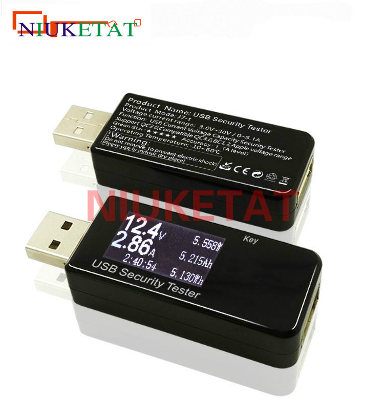 USB security tester LCD display Mini USBs