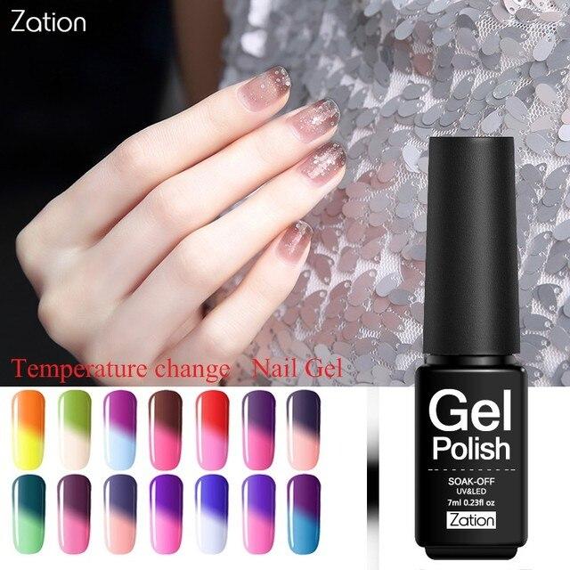 Zation Nail Art Design Gel Lak Nail Gel Polish Hot Koude