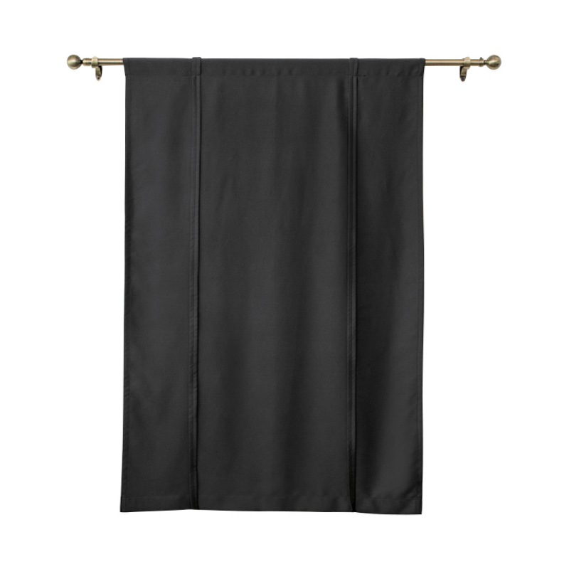 2018 useful window curtain home decoration blackout curtains tie up curtain for bedroom black. Black Bedroom Furniture Sets. Home Design Ideas