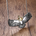 New fashion man necklace, stainless steel casting necklace takahashi goro eagle never fade necklace N16526