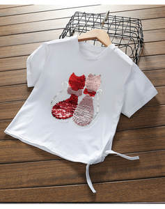 WUHHAWOHHA T-shirts Summer Children Girl Tshirt Clothes