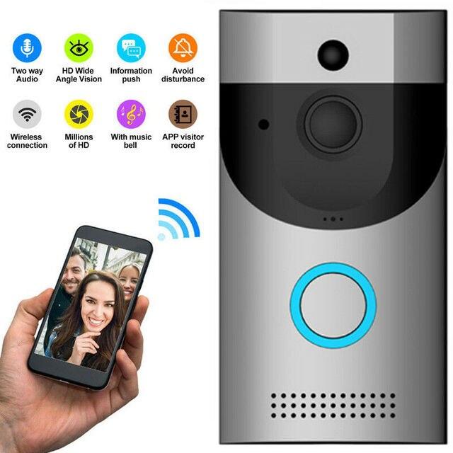 Anytek B30 無線 Lan インターホンビデオドアベルカメラ + B10 ドアベル受信機セットドアベルカメラ Wifi ビデオナイトビジョン