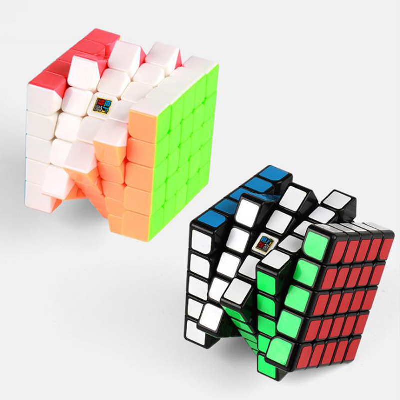 US $42 2 20% OFF|D FantiX Moyu Cubing Classroom Magic Cube Set 6 pieces 2x2  3x3 4x4 5x5 6x6 7x7 Speed Cube with Gift Box Puzzle Education Toys-in