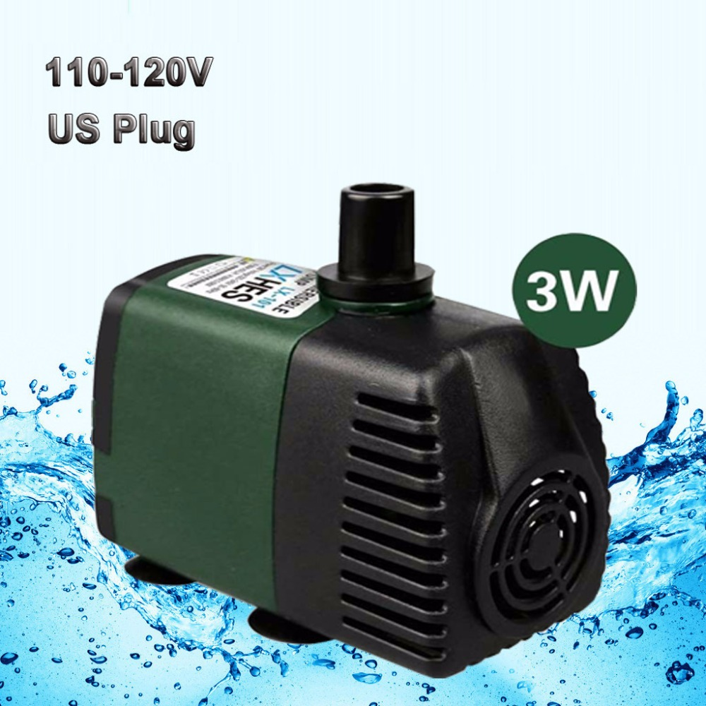 Buy 110v 450lph submersible pump aquarium for Pond pump placement