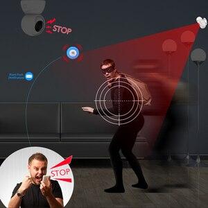 Image 3 - إنذار لاسلكي صفارات الإنذار محس حركة نظام الأمن التحكم في تطبيق لنظام أندرويد وIOS متوافق مع أليكسا جوجل الصفحة الرئيسية