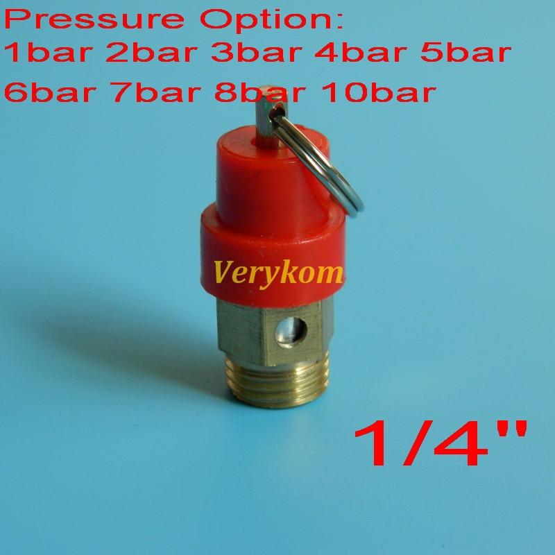1//4/'/' 10KG BSP Air Compressor Safety Release Valve Pressure Relief RegulatoH BA