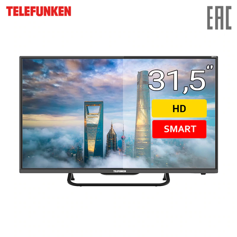 TV 31.5 Telefunken TF-LED32S70T2S HD SmartTV 3239inchTV dvb dvb-t dvb-t2 digital tv 43 telefunken tf led43s81t2s fullhd smarttv 4049inchtv