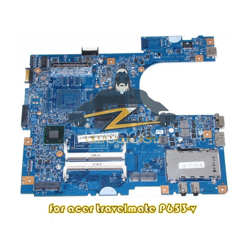 NBV7G11001 NB.V7G11.001 For acer travelMate P653 P653-V laptop motherboard 48.4UP01.011 QM77 DDR3 цена