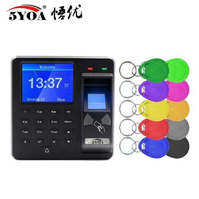 BX6 BX10 Biometric Fingerprint Access Control Intercom Machine Digital Electric RFID Code System For Door Lock Keys Tags