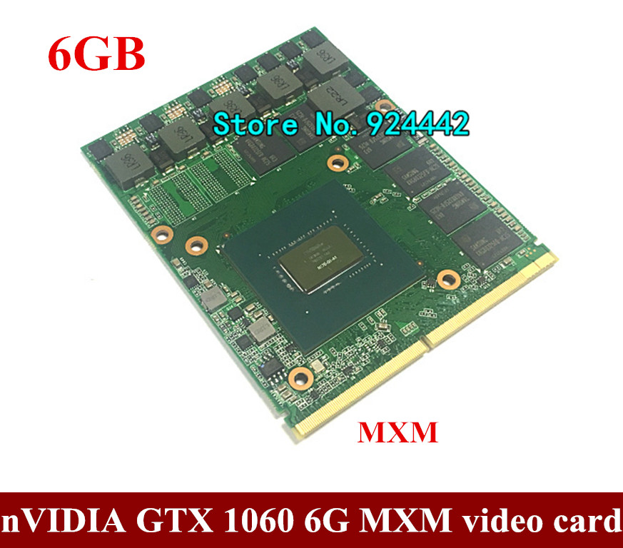 For Dell Alienware / MSI Laptop nVidia GeForce GTX GPU 6GB GDDR5 Graphics Card Send BY DHL