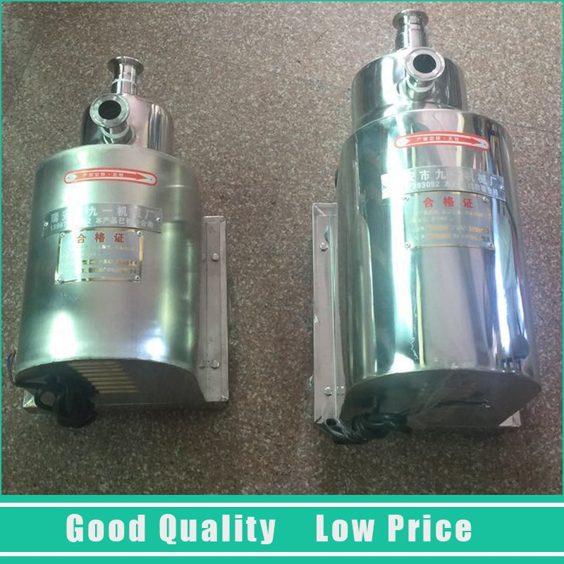220V Food Grade Circulating Water Pump 0.37kw 1m3/H Stainless Steel Centrifugal Pump
