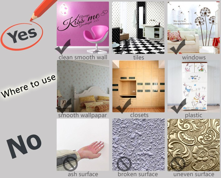 clean house broken computer hot selling wall sticker gaming gamer joystick video computer game