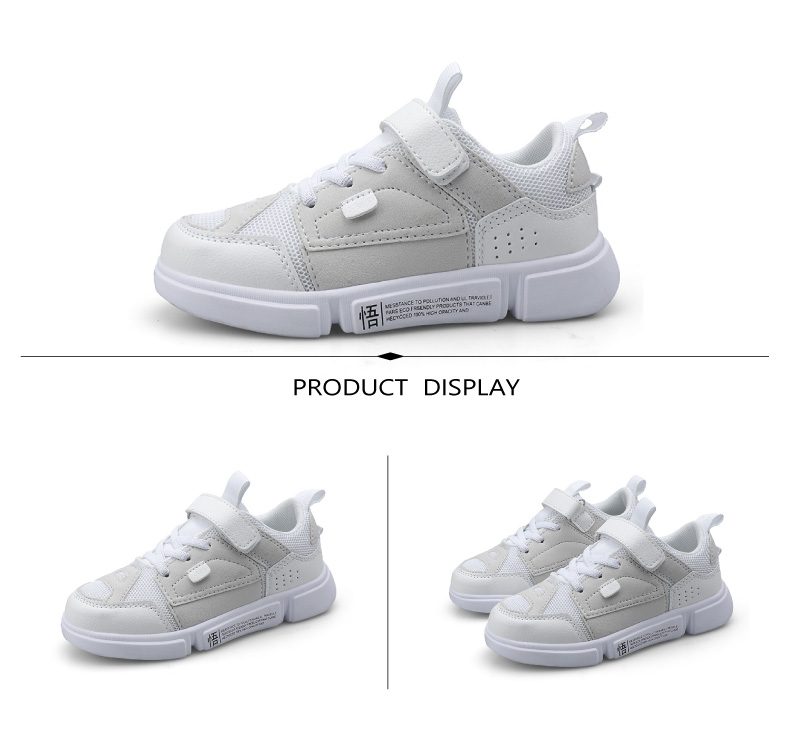 2019 Autumn New Girls Sneaker Kids Shoes Fashion Breathable Pink Leisure Sports Running Shoes For Boys Brand Casual Children Shoes (8)