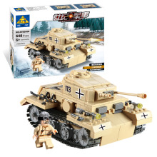 Kazi Brand Building Blocks Toys Compatible Bricks High Quality ABS Plastic Military Series Tanks Scale Model