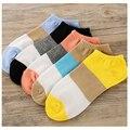 Fashion Autumn Women Socks Delicate Boat Socks Leisure Time Wide Stripe high quality  Ankle low Socks 1lot=10pair