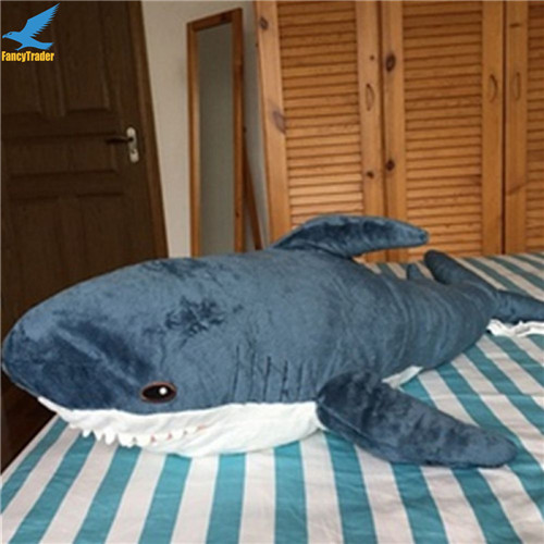 Fancytrader 39\'\' Big Plush Hammerhead Shark Soft Stuffed Lifelike Animal Shark Toy for Kids 100cm Great Gift & Home Decoration (9)