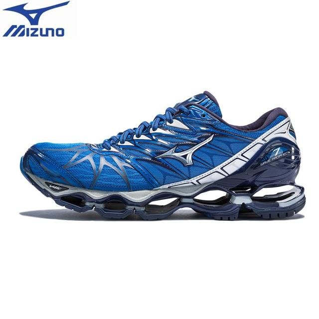 Original MIZUNO WAVE PROPHECY 7 NOVA Running Shoes for men WAVE Cushion  Sneakers Breathable Sports Shoes 755609dc97997