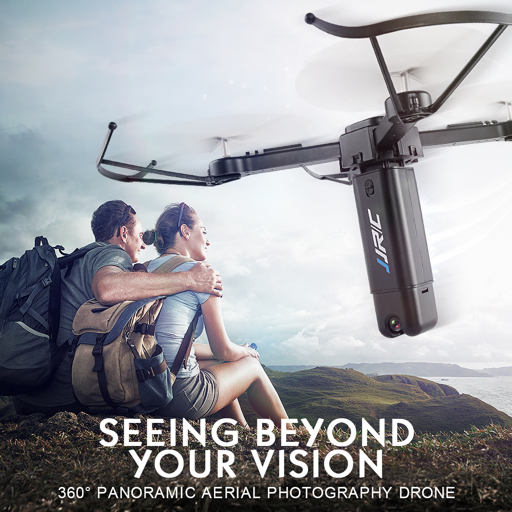 Original JJRC H51 Rocket Drone with Camera Wifi FPV RC Drone 360 Degree Panoramic Aerial Photography Foldable Arms Quadcopter