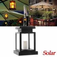 Thuis Huis Outdoor Kaars Lantaarn Ni-Cd Zonne-energie Landschap Paraplu Lantaarn Hang Lamp LED Licht Lampe Solaire