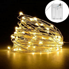 Christmas led string lights 10M Fairy tale garland 33ft 5V USB powered outdoor Warm white
