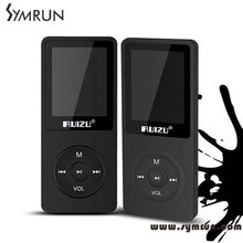 Symrun RUIZU X02 MP3 Player With 1.8 Inch Screen Can Play 100 hours, 4gb With FM,E-Book,Clock,Data