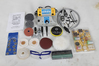 Mini Bench Lathe Machine Electric Grinder Polisher Driller Cutterbar Dremel 350w 26000 R/Min