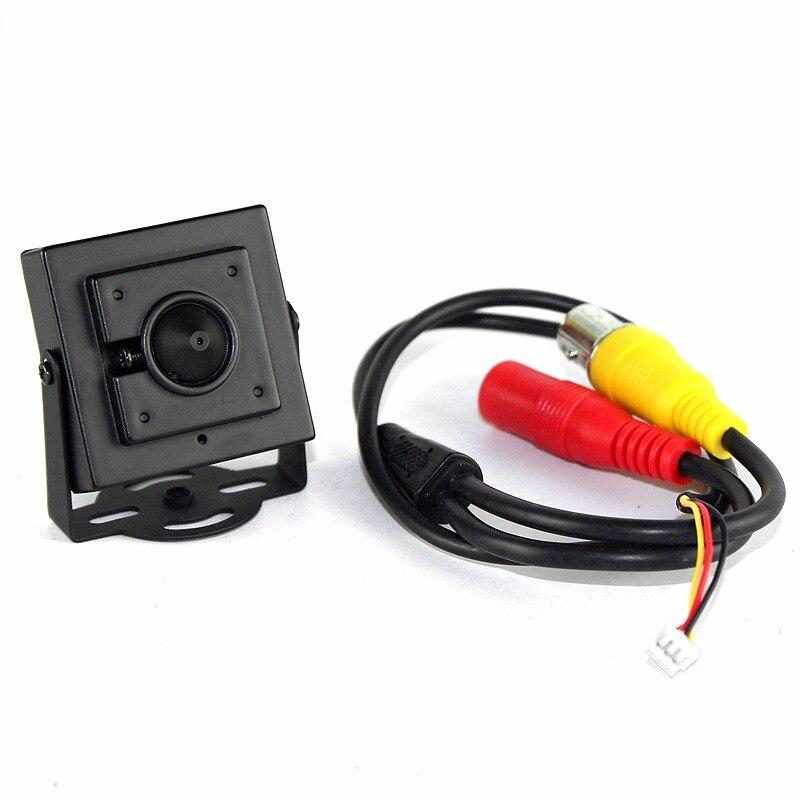 Ny Micro Cone 3,7 mm linse HD 1 / 4CMOS 1200TVL Lille farve Analog - Sikkerhed og beskyttelse - Foto 3