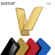 DOITOP Newest MP3 MP4 Player Portable Call Phone Sport GPRS Location With Speaker Support TF Card FM Loudspeaker Card Phone B4