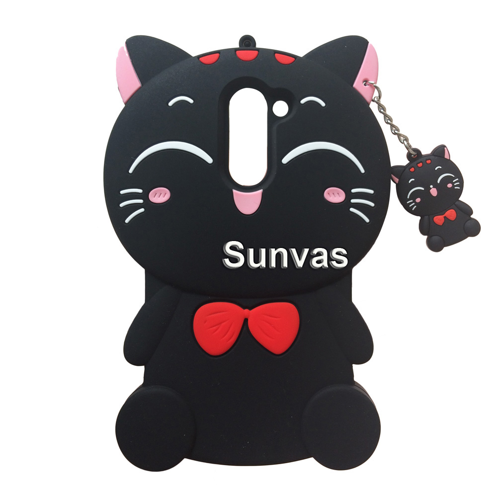 For Huawei Honor 6X Lucky Cat Soft Silicone Cartoon Cover Skin For Huawei Honor 6X 5 5 quot Phone Case Back Cover Fundas Coque in Fitted Cases from Cellphones amp Telecommunications