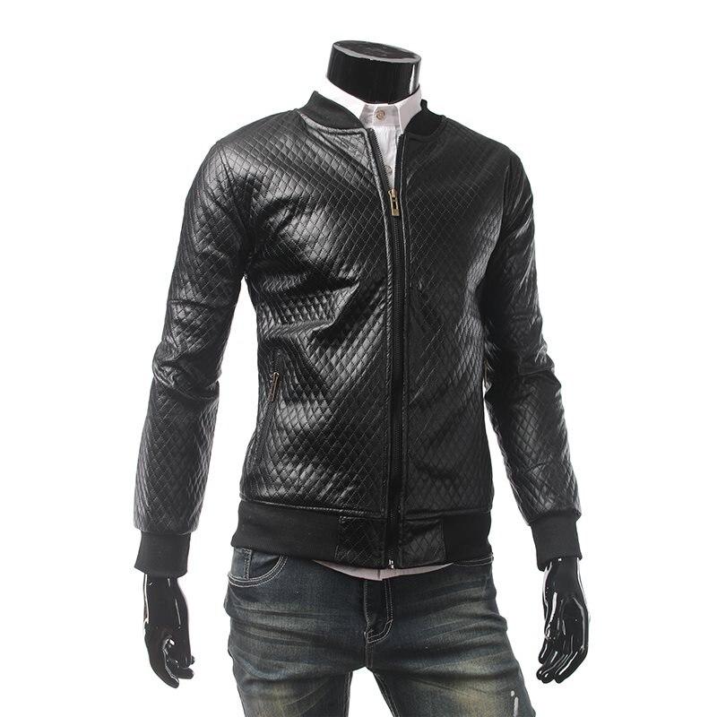 Couche Livraison Longues Zipper cuir Base down Veste De Simili Vestes Manches Finition Noir Col Turn Biker Mode Directe Nouvelle Moto x0qwCgq
