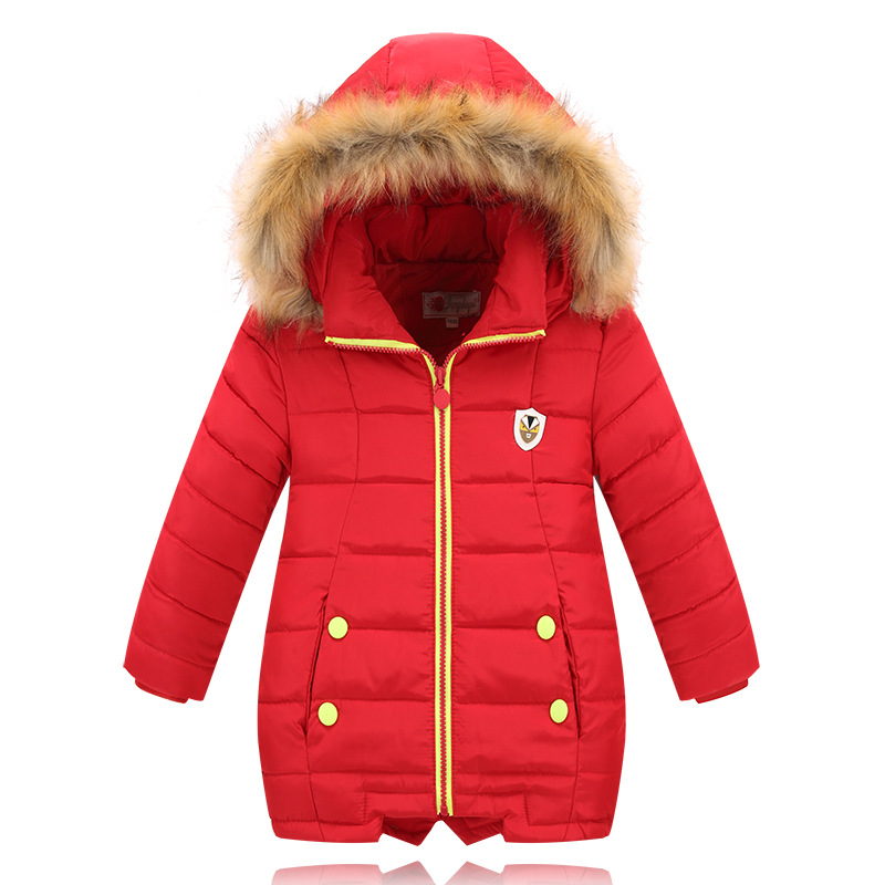 ФОТО 2016 NEW Winter Jacket For Girls Winter Coat Girl Children Down Parkas Outerwear Jacket Children Jackets Kids Winter Coat Girls