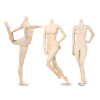1/6 Female Body figure Large/Mid/Little Bust Pale Color With Super Fexible Joints 92004 for 12 inches Action Figures
