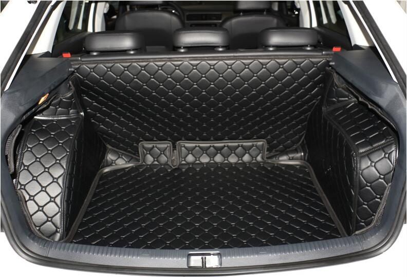 Good Special Trunk Mats For Skoda Rapid Hatchback 2016 2014 Durable