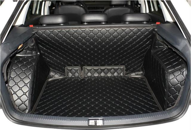 watch 336ef c011d Good! Special trunk mats for Skoda Rapid hatchback 2016-2014 durable  waterproof boot carpets liner for Rapid 2015,Free shipping