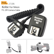 Pixel Keibe 1 м/3,6 м ttl от камеры Горячий башмак синхронизации Шнур Flashgun кабель для Nikon D5200 D3200 D7200 D800 D90 SB910 SB900 флэш-шнур