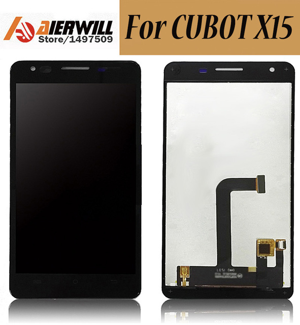 100% NEW For Cubot X15 LCD Display + Touch Screen Digitizer Assembly Replacement Repair Accessories for Cubot X15 phone