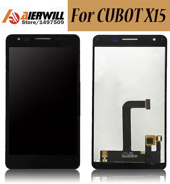 100% nuevo para cubot x15 lcd display + touch screen asamblea digitalizador reparación del reemplazo accesorios para teléfono cubot x15