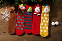 Xmas Warm Socks Parent-child socks Christmas Style Snowman Snowflake Santa Cartoon Kids Accessories
