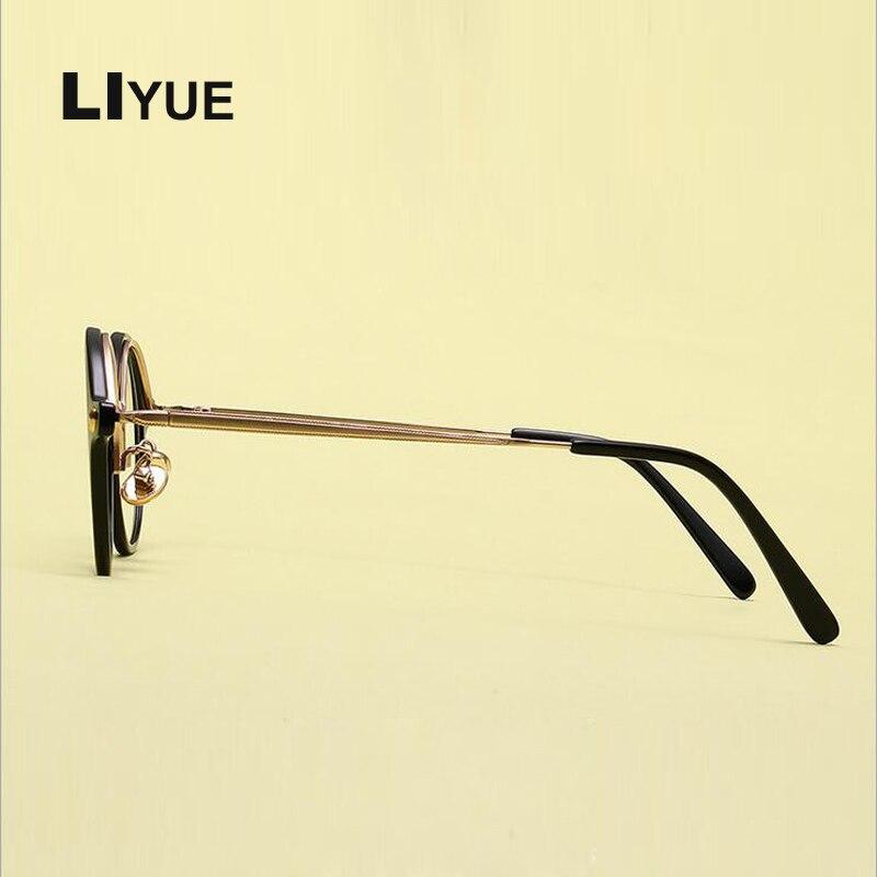 Korea runde brillenfassungen frauen männer Retro kleine runde ...