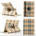 High Quality For iPad 6 Case Plaid Design Business Folio PU Leather Protective Skin For Apple iPad Air 2 Tablet  Accessories YD