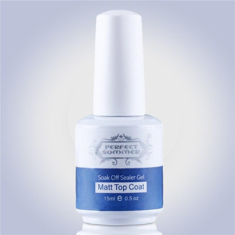 Կատարյալ տաք վաճառք Matt Top Coat Nail Art UV գել - Մանիկյուր - Լուսանկար 4