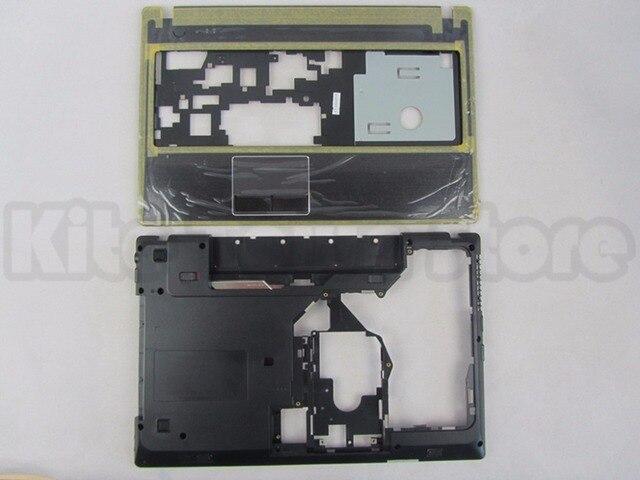 """NEW For Lenovo G570 G575 Bottom Base Cover Case & Palmrest Upper Case """"HDMI"""" Combo Free Shipping"""