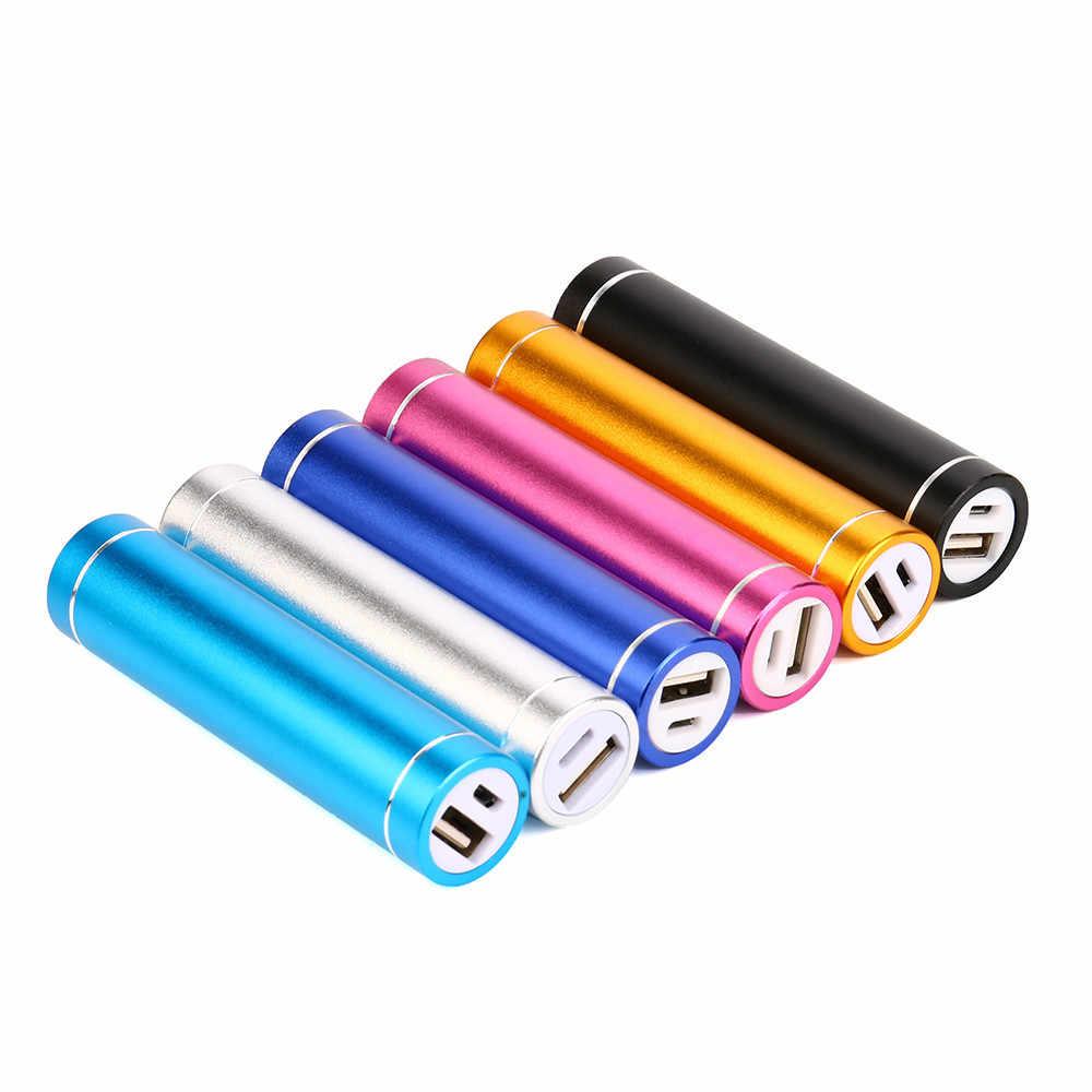 18650 بطارية قوة البنك 4000mAh المحمولة USB شاحن بطارية خارجي ل هاتف محمول آيفون الهواتف الذكية المحمولة قوة البنك