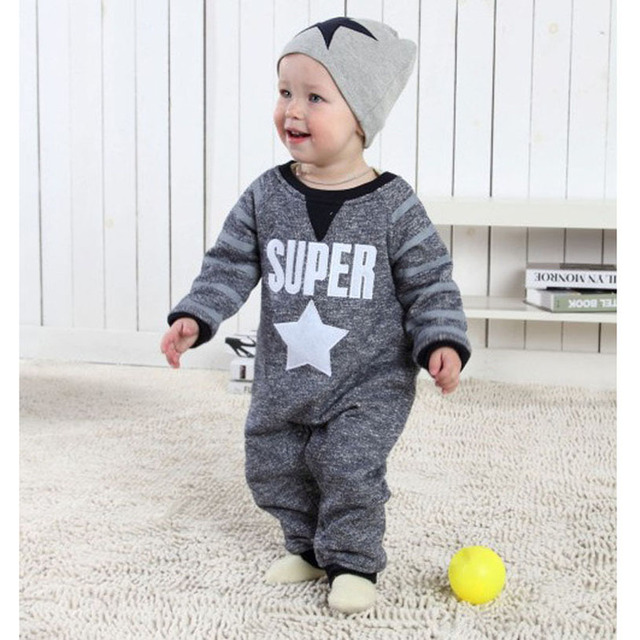 80b86c84e New Born Baby Clothes Cute Spring Roupa Infantil Handsome European ...