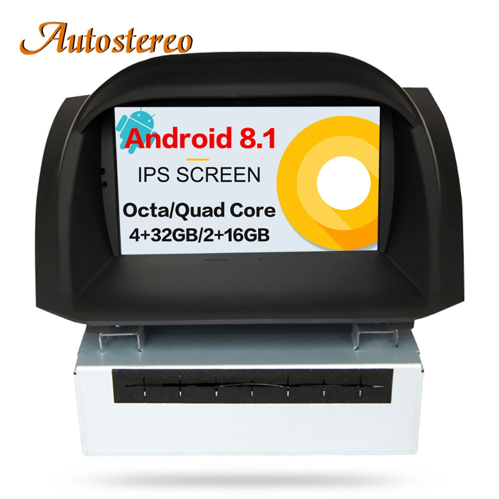 Autostereo Android 8 0 Car DVD Stereo For Ford Fiesta 2013 2014 2015 2016 GPS Navigation