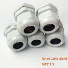 B Class Nylon PA66 Made  20pcs/bag cable Gland M16 IP68 Waterproof connector for 10-14mm Electric Cable/Wire