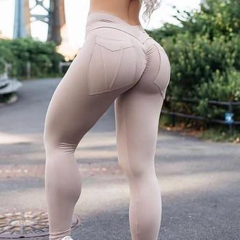 Legging Elastic Plus Size Sexy Bodybuilding Pant 1