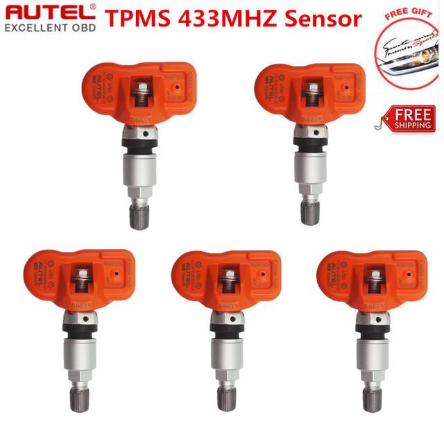 10 pcs Original Autel MX-Sensor 433 MHz Universal Programável Sensor Especial Construído para Sensor de Pressão Dos Pneus TPMS MX Sensor DHL